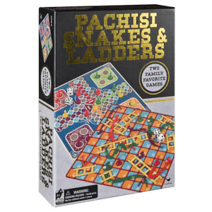 Classic Games Pachisi Ludo & Snakes & Ladders Board Game NEW