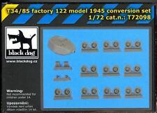 Blackdog Models 1/72 T-34/85 FACTORY 122 MODEL 1945 Resin Conversion Set