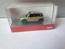 herpa Mini Cooper Cabrio---GEIGER BAU--87561 Oberstdorf-  -- 936248
