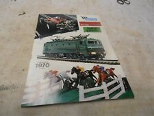 CATALOGUE JOUETS ANCIEN SCALEXTRIC HORNBY HO 1970