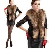 Hook and Eye Faux Fur Cropped Waistcoats for Women