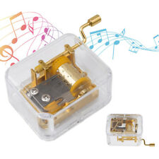 22 Songs for Choose DIY Gold Music Box Movement Elfen Lied Lilium 18Note Windup