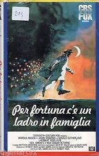 Per fortuna c'è un ladro in famiglia (1983) VHS Fox  Video  Herbert Ross