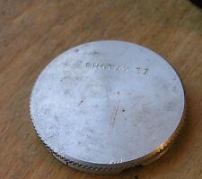 lightweight 37mm photax push fit slip on aluminium front lens cap