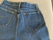 Vintage High Waisted Lee Jeans Size 11 Medium Shorts?