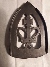 Vintage Iron Footed Trivit with Cross Crown design