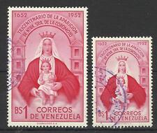 VENEZUELA 1952 OUR LADY OF COROMOTO 300th ANNIV