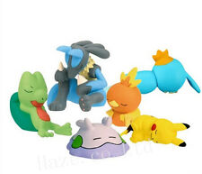 6pcs/Lot Pocket Monster Pokemon Neodoroid Action Figure Figurine Toy