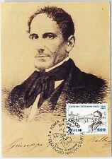 59156  -  ITALY - POSTAL HISTORY:  FDC  MAXIMUM CARD 1991  - LITTERATURE Belli