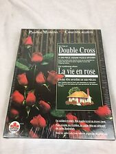 "Canada Games Puzzling Mysteries 500pc Mystery Jigsaw Puzzle ""Double Cross"""
