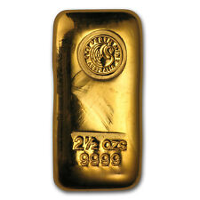 2.50 oz Gold Bar - Perth Mint - SKU#151259