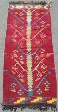 RARO Antico turca dell'Anatolia di Sivas Albero della Vita kilim tappeto Kelim