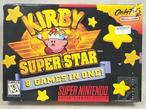 Kirby Super Star (Super Nintendo | SNES) Authentic BOX ONLY