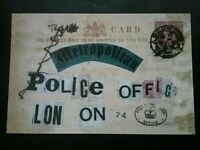 POSTCARD LETTER FROM 1888 , WAS IT A CRANK OR JACK THE RIPPER  HIMSELF ? MURDERS