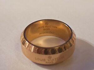Louis Vuitton Ring  Monogram LV Size 6