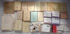 Gros lot papiers officier compagnie Méhariste du Tassili armée française Algérie