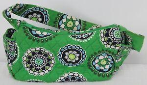 Vera Bradley Green Bag Shoulder Small Hobo Cupcakes Green Pattern