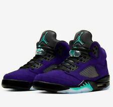 DS New Nike Air Jordan 5 Alternate Grape Emerald 2020 Size 11.5 136027-500