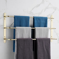 Us 3 Stagger Layers Towel Rack 304 Stainless Steel Towel Bars Bathroom Accessory