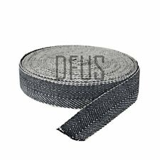 """Trade roll 33mtr Black & white upholstery webbing 2"""" wide. UPHOLSTERY SUPPLIES."""