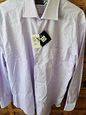 NWT $148 Saks Fifth Avenue  Dress Shirt - 16 Neck