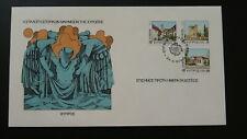 FDC Europa Cept 1978 Cyprus Historic landmarks of Europe