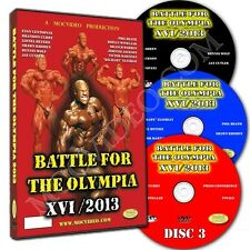BATTLE FOR THE OLYMPIA 2013 bodybuilding dvd Mr Olympia IFBB NPC Jay Cutlers 6th