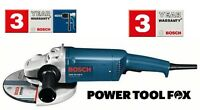 "new BOSCH GWS 20 230H PRO 9"" Angle Grinder Corded 240V 0601850L73 3165140669788"