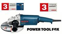 "BOSCH GWS 20 - 230H PRO 9"" Angle Grinder Corded 240V 0601850L73 3165140669788 #A"