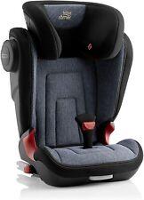Britax Romer Kidfix 2 II Kids Car Seat Blue Marble Isofix Booster 15-36kg 2/3