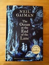 SIGNED 1ST EDITION OCEAN AT THE END OF THE LANE NEIL GAIMAN 1ST PRINT GOOD OMENS