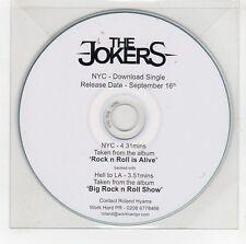 (GG878) The Jokers, NYC / Hell To LA - DJ CD