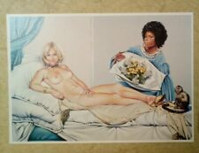 carte postale MEL RAMOS C1564 pin-up nu