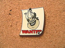 Ursula Disney Pin -WDW- Cast Lanyard Series #3 - Wanted Posters w/ Hidden Mickey