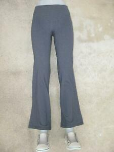 Athleta Relaxed Flare Yoga Pants Sz XS Gray Workout Casual Stretch Trousers