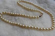 9 Carat Pearl Necklace/Choker Edwardian Fine Jewellery