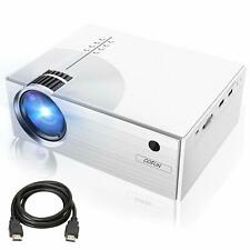 """Projector, COFUN Video Projector 2800Lux, Full HD Projector with 170"""" Projection"""