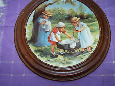 """Knowles -Plate- Friends I Remember Collection """"Office Hours""""-W/Fr Ame 1985"""
