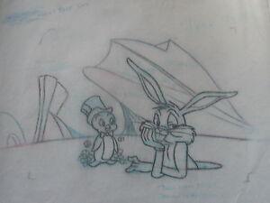 Tom Ray Director  Bugs Blnny  Original Pencil Bugs Bunny