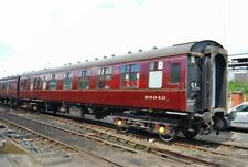 PHOTO  BR MKI BRAKE COMPOSITE CORRIDOR  NO 99040 OF THE MIDLAND RAILWAY CENTRE I