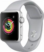 Apple Watch Series 3 38mm Smartwatch - Silver (MQKU2LL/A)