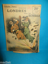 "Document ""LONDRES SOUS LES BOMBES"" de Georges THOMAS, Collectionneur Patrie"