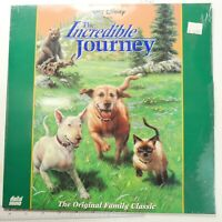BRAND NEW FACORY SEALED LASERDISC LD WALT DISNEY THE INCREDIBLE JOURNEY