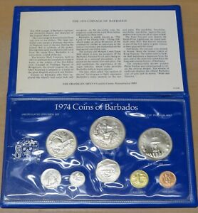1974 Barbados Uncirculated Specimen Set