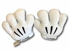 Men/Women Minnie Mickey Mouse Costume Cosplay Halloween White Gloves Pair Small