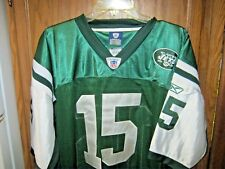 TIM TEBOW Jersey NEW YORK JETS Authentic on Field #15 Throwback NEW NFL sz 48