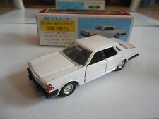 Yonezawa Toys Diapet Cedric 4-Door HT 280E Brougham in Grey/Red on 1:40 in Box