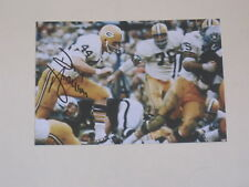 Green Bay Packers DONNY ANDERSON Signed 4x6 Photo NFL AUTOGRAPH