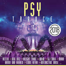 CD Psy Trance 2018 von Various Artists