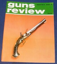 GUNS REVIEW MAGAZINE OCTOBER 1979 - A RIFLED TURN-OFF PISTOL BY HARMAN BARNE